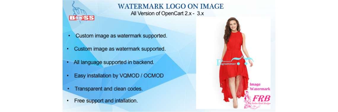 Watermark on Product Image